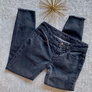 Free People Skinny Destroyed Jeans